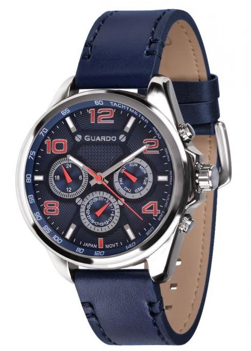 мъжки часовник Guardo 10658-3