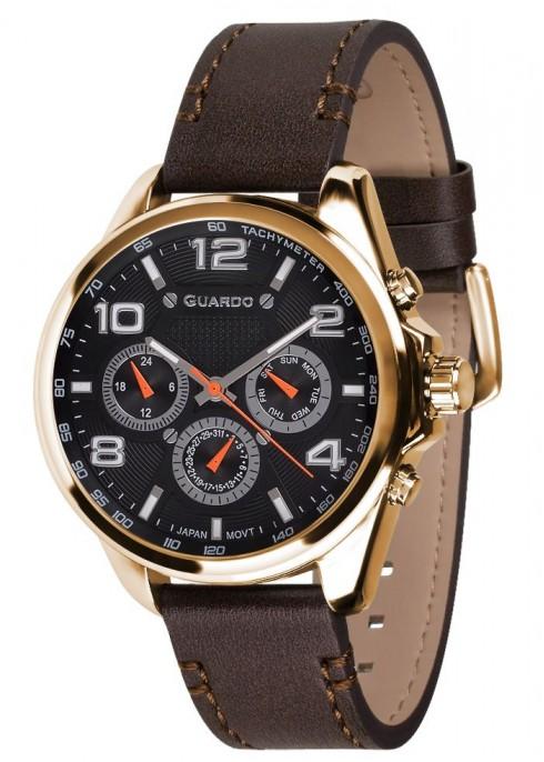 мъжки часовник Guardo 10658-4