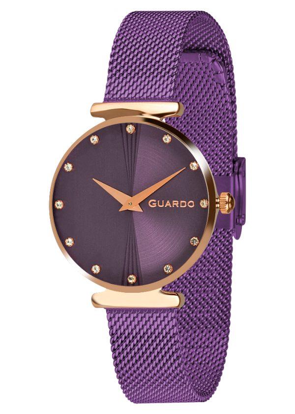 дамски часовник лилав
