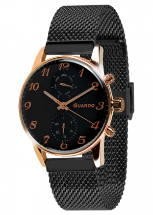Дамски часовник Guardo 12009-4-3